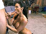 Pic of Kendra Lust in bangbrosclips episode: Cock addicted MILF gets award for sex