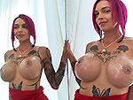 Pic of Anna Bell Peaks in bangbrosclips episode: Hot Milf squirts all over the dick!