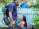 bangbrosclips: Horny Priya Price Fucks The Gardener