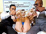 bangbrosclips: Jillian Janson wins two black cocks