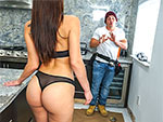 Pic of Aidra Fox in bangbrosclips episode: Aidra Fox Fucks Handy Man