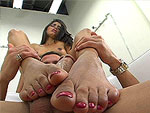 magicalfeet: The Foot Job Squirt