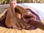 Pic of Kara Novak in magicalfeet episode: Baby lets get those feet wet.