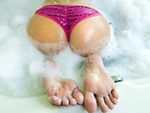 magicalfeet: Squeeky Clean Foot Job!!!