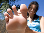 Pic of Danica Dillon in magicalfeet episode: The Danica Dillan Foot Treatment