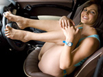 Pic of Bobbi Starr in magicalfeet episode: Bobbi Starr's Feet on the Wheel