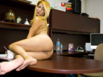 Pic of Penelope in magicalfeet episode: The Assistant Gives a Foot-Job!