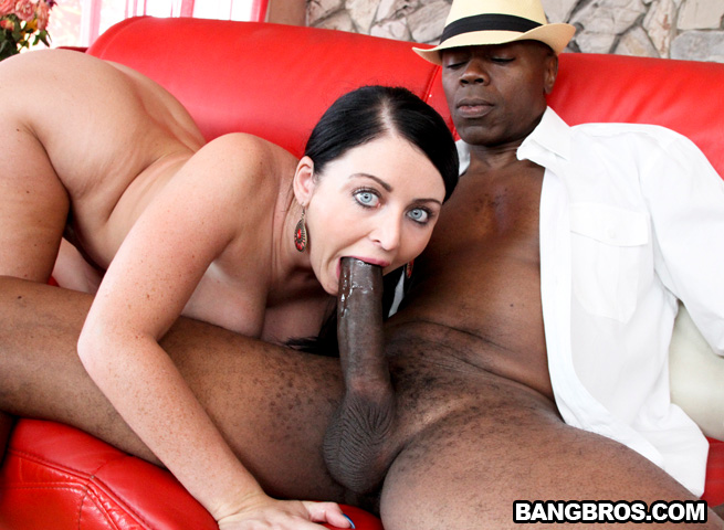 Black Cock Pounding A White Girl