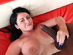 Pic of Sophie Dee in monstersofcock episode: Black cock pounding a white girl