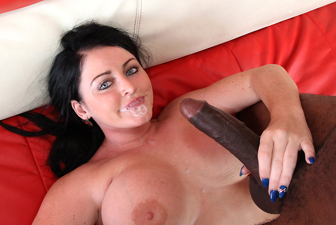 Big Black Rod For Brunette