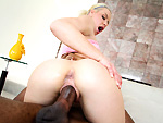Pic of Monstersofcock in Blonde gets her pussy opened up