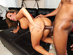 monstersofcock: She fucks a huge black dick