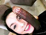 monstersofcock: Small petite white girl takes her first big black dick, loves it