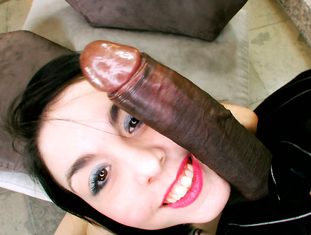 Small Petite White Girl Takes Her First Big Black Dick, Loves It Monsters of Cock
