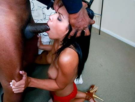 Sexy Latina Fucked By A Big Black Monster Cock!