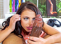 monstersofcock: Adriana Chechik Battles A Monster