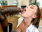 Pic of Aidra Fox in monstersofcock episode: A Big Black Dick For Aidra Fox