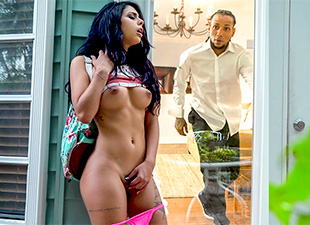 MonstersOfCock – Locked Out – Gina Valentina