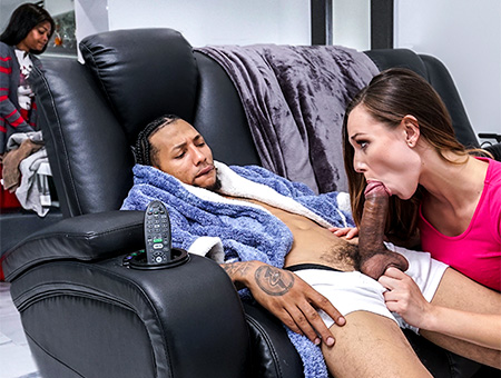Aidra's Interracial Fuck Monsters of Cock