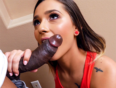 Craving Her Step-Brother�s Huge Cock Monsters of Cock