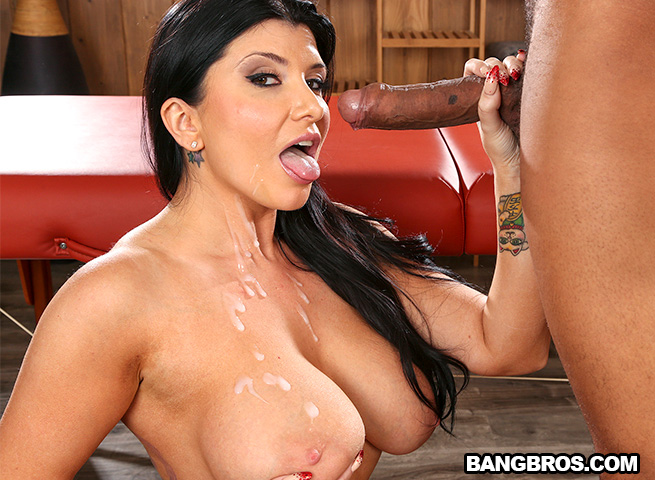 Massaging big black cock with mouth ricky johnson romi rain