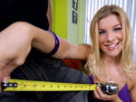 Pic of Robyn Lee in monstersofcock episode: Robyn takes all 11 inches
