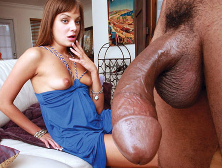 Nika Loves Black Cock Monsters of Cock