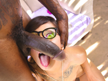 The Monster In Biggz W/ Coco Velvett Monsters of Cock