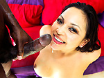 Pic of Adrianna Luna in monstersofcock episode: She Likes The Way It Tastes W/ Adriana Luna