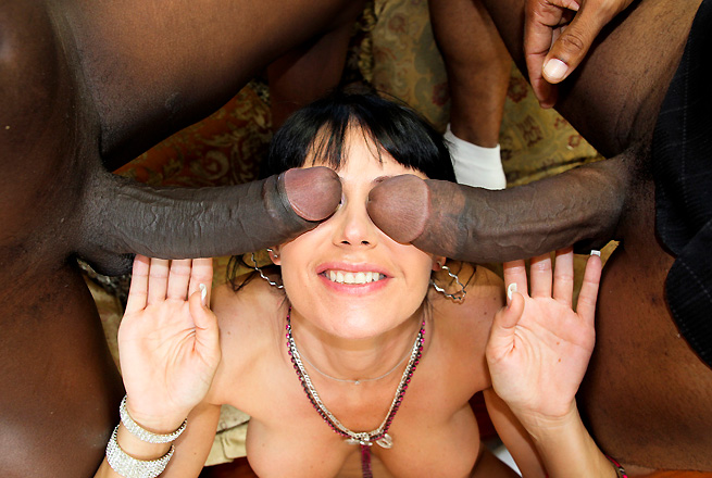 Eva Karera big dicks video from Monsters of Cock