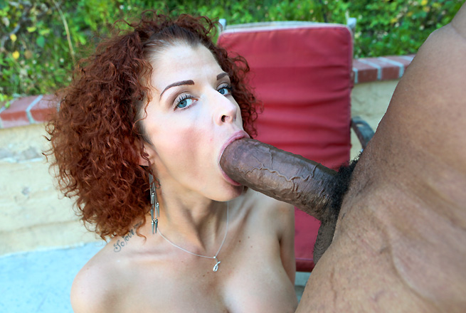 Joslyn James latches on like a hoover