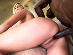 monstersofcock: Blonde Girl Loves The Black Cock