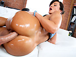 pawg: Lisa Ann Takes it Anal Bam!