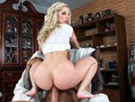 Pic of Ashley Fires in pawg episode: Huge ass on a white girl for anal sex