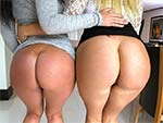 pawg: DOUBLE BIG WHITE BOOTY OVERDOSE