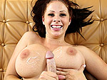tugjobs: Gianna's Tug Job and Tittie Bounce