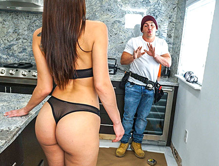 Aidra Fox Fucks Handy Man