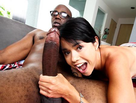 Dana vespoli sucking cock