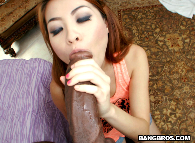 Asian big black dick