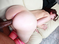 Amateur Redhead With A Huge Ass Fucked Hardcore