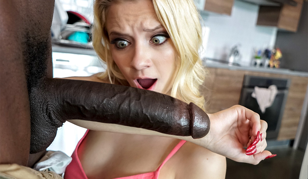 Ebony Running Big Black Dick